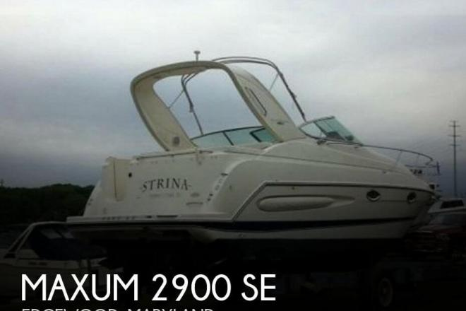2005 Maxum 2900 SE - For Sale at Edgewood, MD 21040 - ID 69539