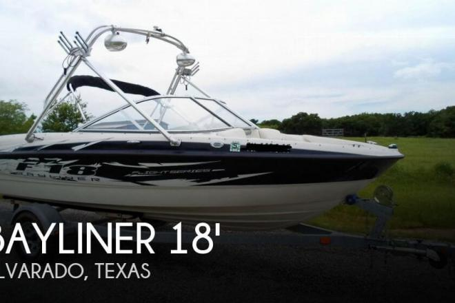 2008 Bayliner 185 F-18 Flight Series - For Sale at Alvarado, TX 76009 - ID 70441