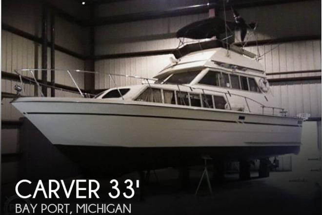 1979 Carver 3326 FE Voyager - For Sale at Bay Port, MI 48720 - ID 68603