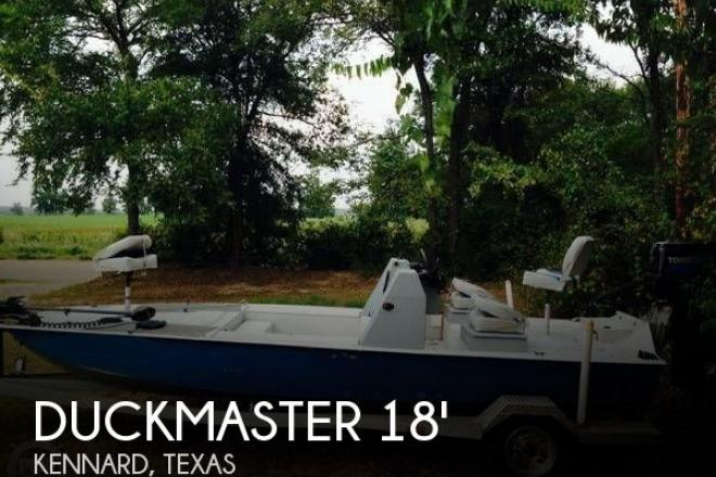 2009 Duckmaster 18 Laguna Tiger - For Sale at Kennard, TX 75847 - ID 67694