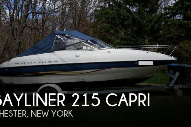 2001 Bayliner 215 Capri - For Sale at Chester, NY 10918 - ID 69236