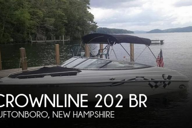 2004 Crownline 202 BR - For Sale at Center Tuftonboro, NH 3816 - ID 76782