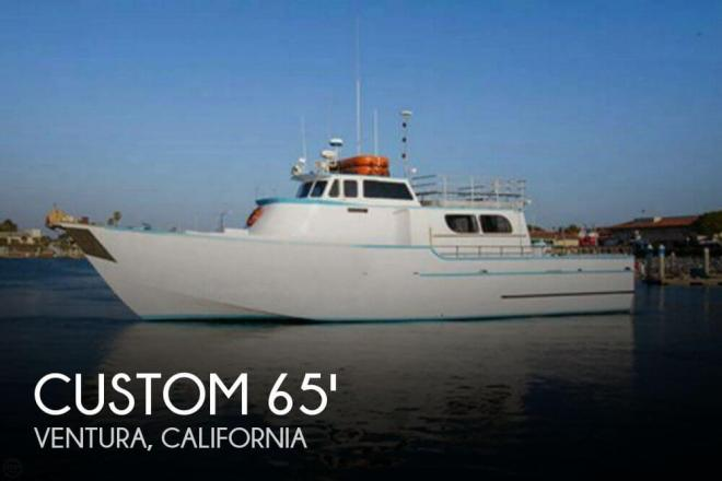1967 Custom Built 65 Commercial Sportfisher - For Sale at Ventura, CA 93001 - ID 66728