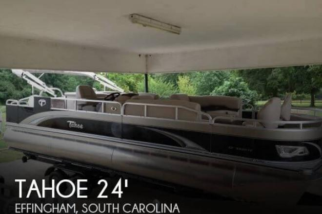 2014 Tahoe 24 Fish Cruise - For Sale at Effingham, SC 29541 - ID 66863