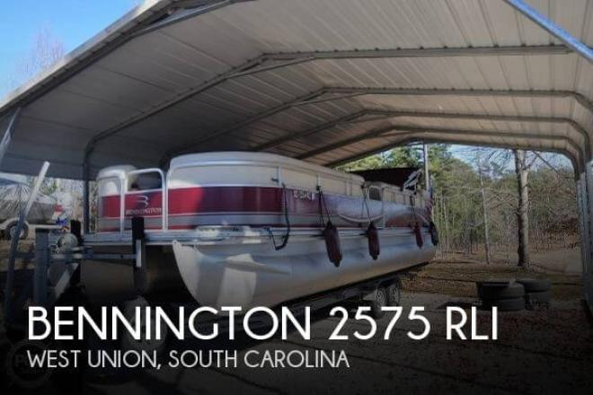 2008 Bennington 2575 RLI - For Sale at West Union, SC 29696 - ID 66209