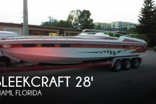 1987 Sleekcraft 28 Enforcer - For Sale at Miami, FL 33177 - ID 66211