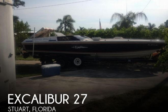 1980 Excalibur 27 - For Sale at Stuart, FL 34994 - ID 71482