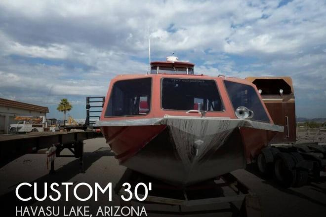 1993 Custom Built Bentz 30 Tour Boat - For Sale at Needles, CA 92363 - ID 71748