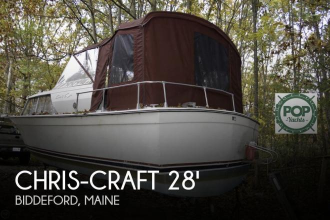1969 Chris Craft 27 Commander - For Sale at Biddeford, ME 4005 - ID 64723