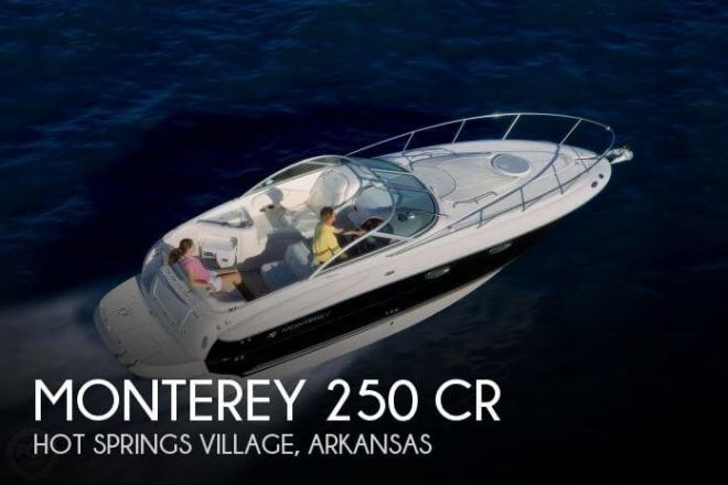 2008 Monterey 250 CR - For Sale at Hot Springs, AR 71901 - ID 63429