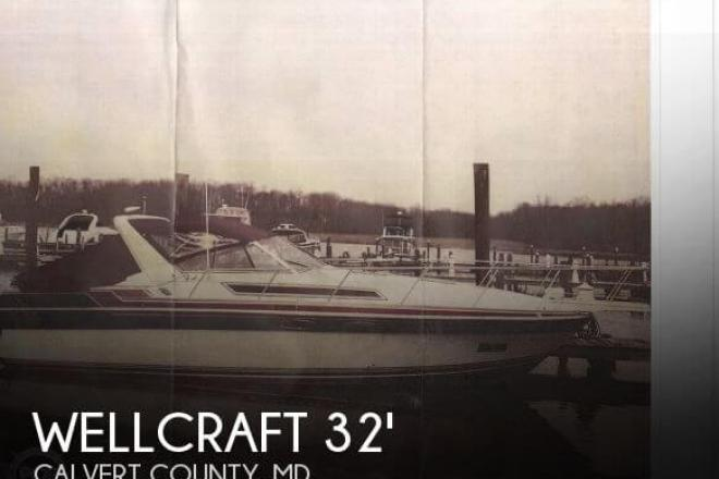 1987 Wellcraft 3200 St.Tropez - For Sale at Chesapeake Beach, MD 20732 - ID 64060