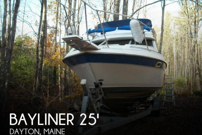1988 Bayliner 2560 Convertible - For Sale at Dayton, ME 4005 - ID 64853
