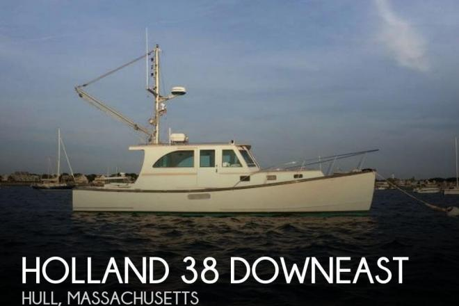 2002 Holland 38 Downeast - For Sale at Hull, MA 2045 - ID 62090