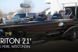2012 Triton 21 HP Elite DC