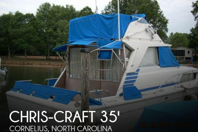 1973 Chris Craft 33 Catalina - For Sale at Cornelius, NC 28031 - ID 61202