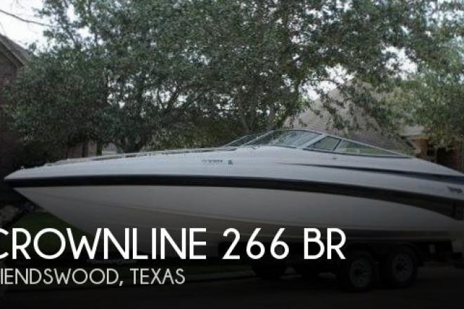 2001 Crownline 266 BR - For Sale at Friendswood, TX 77546 - ID 58867