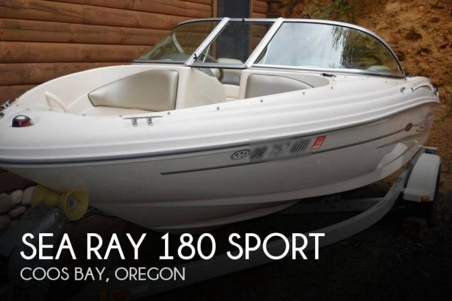 2004 Sea Ray 180 Sport - For Sale at Coos Bay, OR 97420 - ID 58625
