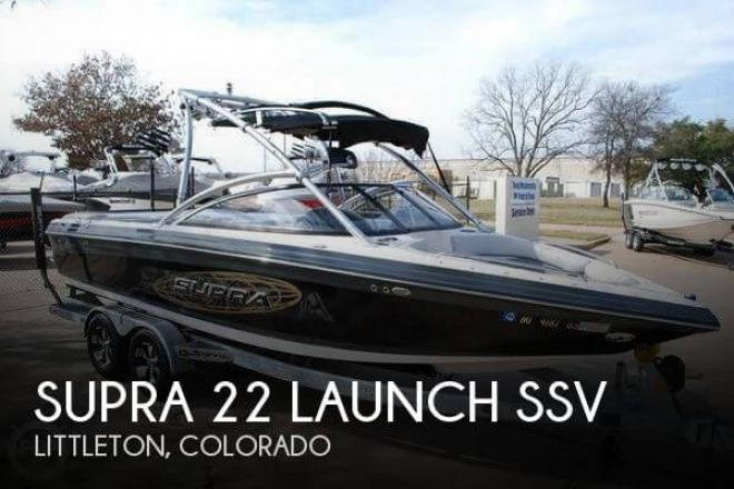 2009 Supra 22 Launch SSV - For Sale at Littleton, CO 80120 - ID 58848