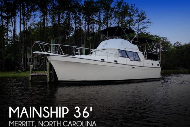 1987 Mainship 36 Nantucket - For Sale at Merritt, NC 28556 - ID 58345
