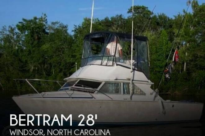 1975 Bertram 28 Flybridge Cruiser - For Sale at Windsor, NC 27983 - ID 56551