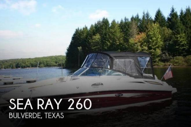 2009 Sea Ray 260 - For Sale at New Braunfels, TX 78130 - ID 58337