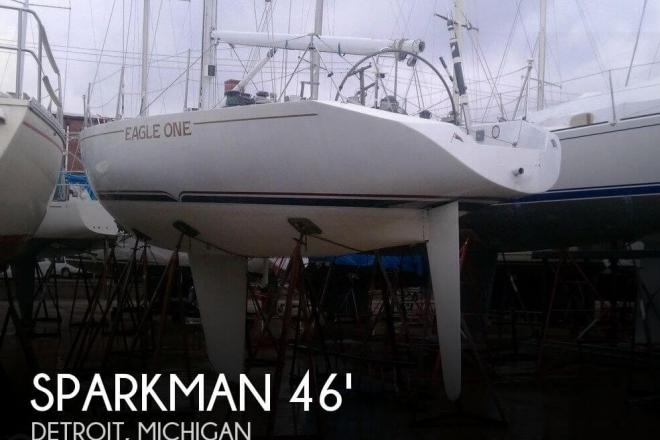 1978 Sparkman & Stephens 46 Bermuda Sloop - For Sale at Detroit, MI 48201 - ID 62764