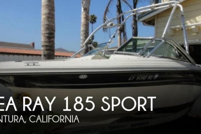 2005 Sea Ray 185 Sport - For Sale at Ventura, CA 93001 - ID 55024