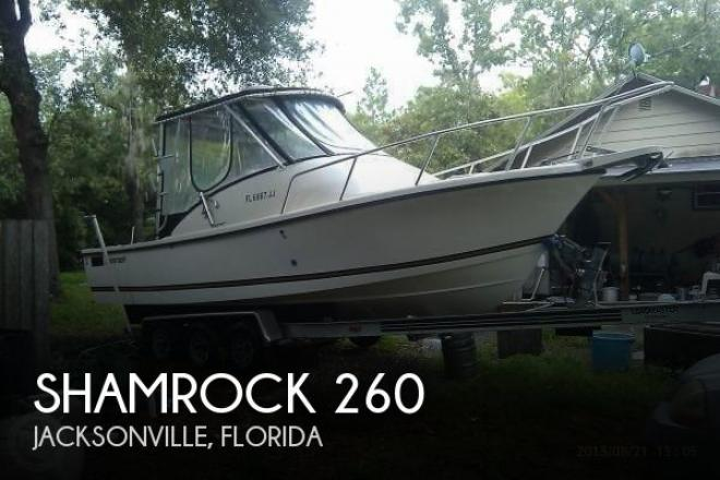 1995 Shamrock 260 - For Sale at Jacksonville, FL 32201 - ID 53886