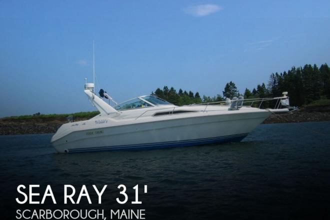 1990 Sea Ray 310 Sundancer - For Sale at Scarborough, ME 4070 - ID 52428