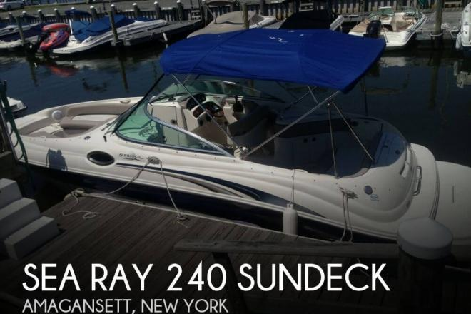 2004 Sea Ray 240 SunDeck - For Sale at Montauk, NY 11954 - ID 51132