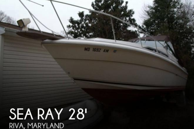 1985 Sea Ray 270 Sundancer - For Sale at Riva, MD 21140 - ID 50847
