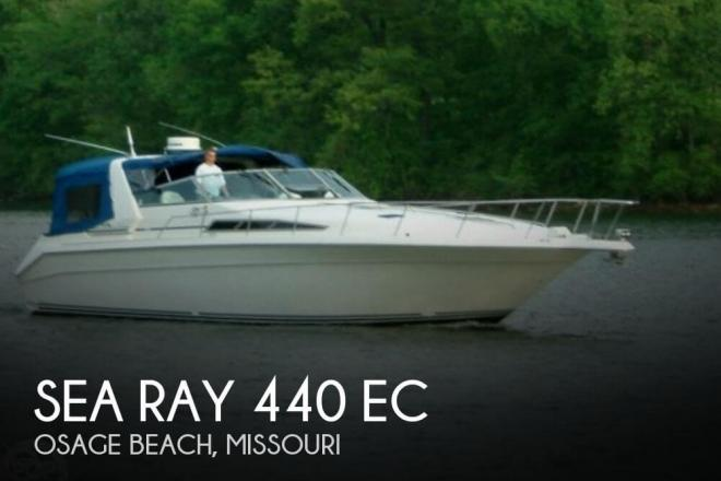 1990 Sea Ray 440 EC - For Sale at Osage Beach, MO 65065 - ID 50618