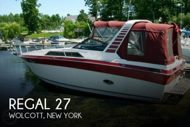 1987 Regal 27 - For Sale at Wolcott, NY 14590 - ID 48399