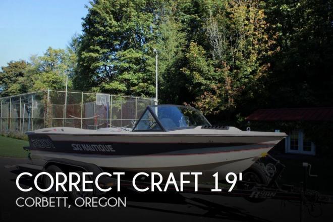 1985 Correct Craft 18 Ski Nautique - For Sale at Corbett, OR 97019 - ID 63301