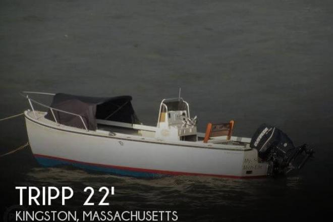 1992 Tripp 22 Center Console - For Sale at Kingston, MA 2364 - ID 47553