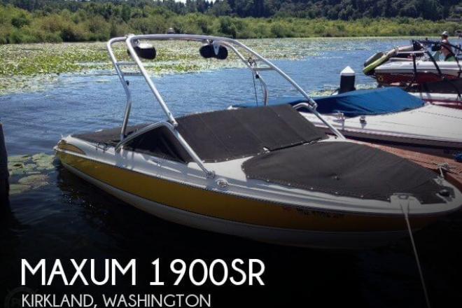 2007 Maxum 1900SR - For Sale at Kirkland, WA 98033 - ID 47669
