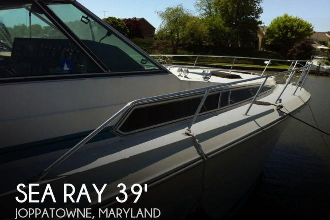 1986 Sea Ray 390 Express Cruiser - For Sale at Joppa, MD 21085 - ID 47439