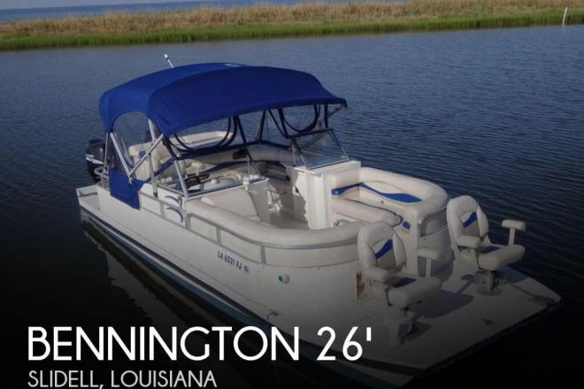 2003 Bennington Custom Twin Engine Catamaran 26 - For Sale at Slidell, LA 70458 - ID 33080