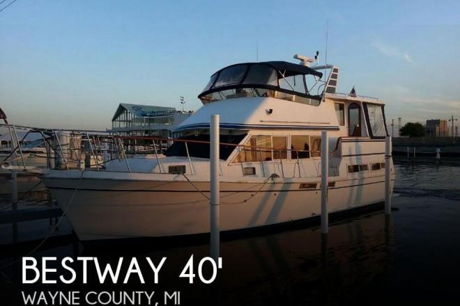 1987 Bestway 40 Labelle Trawler - For Sale at Detroit, MI 48201 - ID 32503