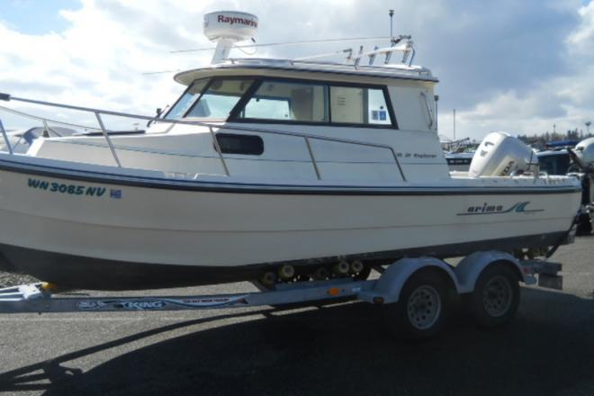 2007 Arima 21ft Explorer - For Sale at Everett, WA 98201 - ID 118880