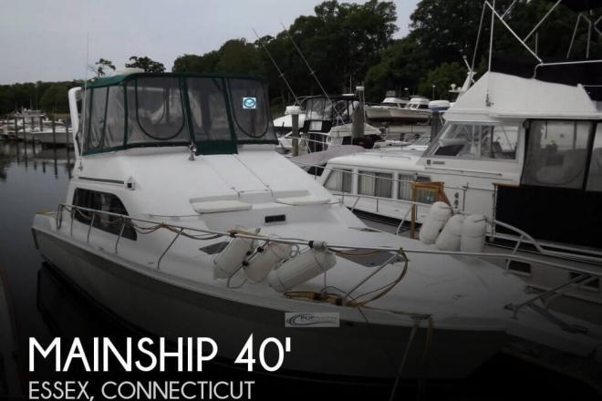 1998 Mainship 40 Sedan Bridge - For Sale at Essex, CT 6426 - ID 71648