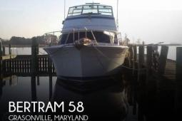 1979 Bertram 58 Convertible