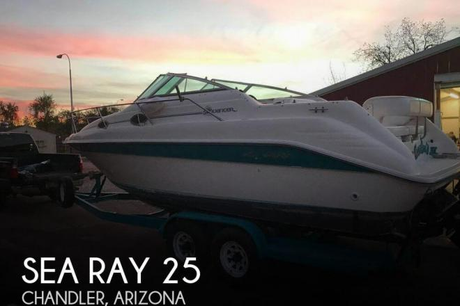1995 Sea Ray Sundancer 250 DA - For Sale at Chandler, AZ 85224 - ID 119130
