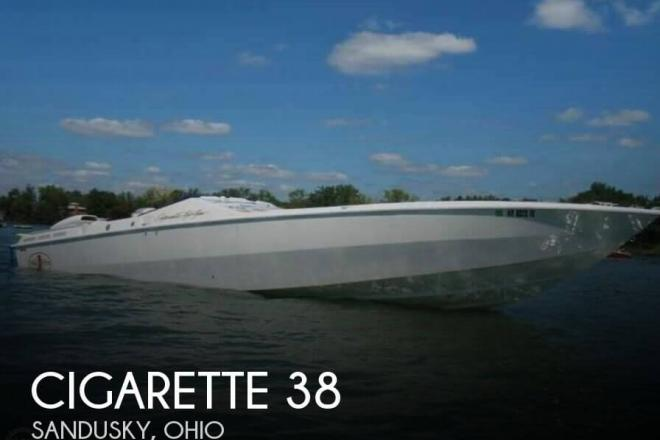 1993 Cigarette Top Gun 38 - For Sale at Sandusky, OH 44870 - ID 119823