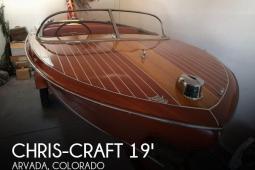 1956 Chris Craft 19 Capri