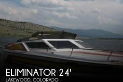 1984 Eliminator 24 MOJAVIE