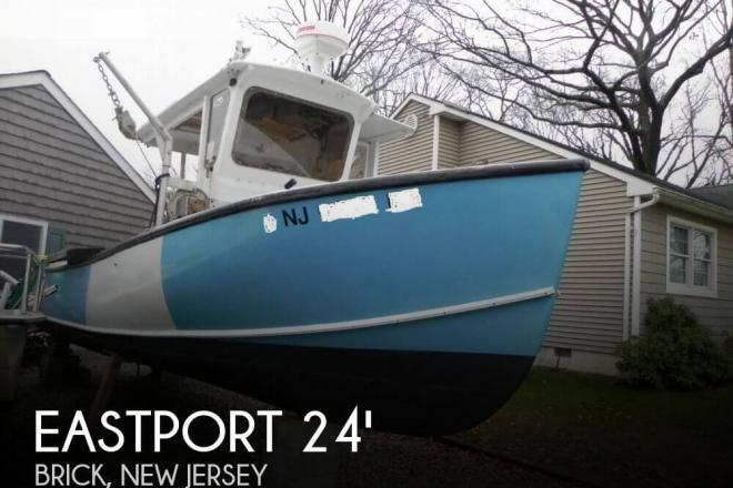 1976 Custom Built Eastporter Lobster / Tuna - For Sale at Brick, NJ 8723 - ID 110006