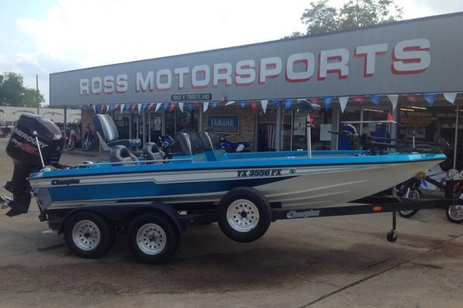 1992 Champion 18 - For Sale at Lufkin, TX 75901 - ID 121895