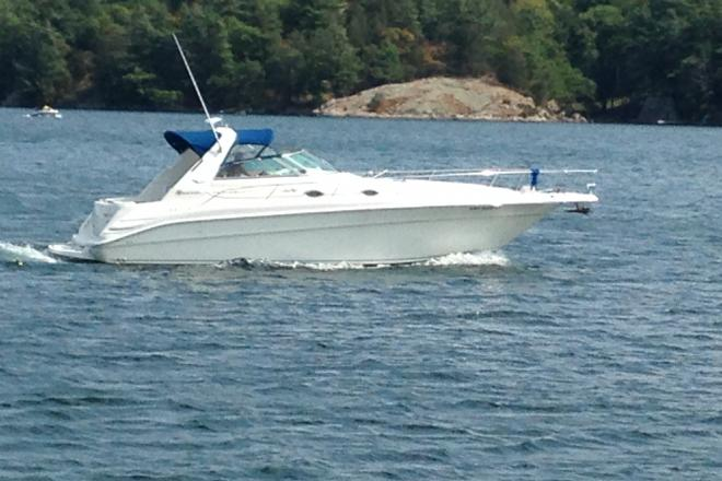 1995 Sea Ray 330 SunDancer with trailer - For Sale at Alexandria Bay, NY 13607 - ID 121935