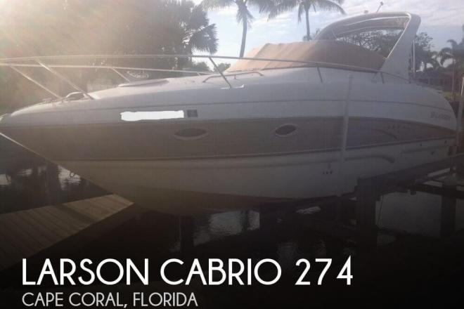 2007 Larson Cabrio 274 - For Sale at Cape Coral, FL 33990 - ID 120248